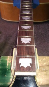 fret layout